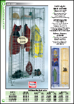 Wire Mesh Lockers with Colour Options
